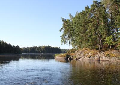Vatten och klippor